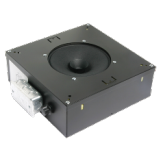 "8"" Speaker With 529 Cu. In. Channel Rail Enclosure"