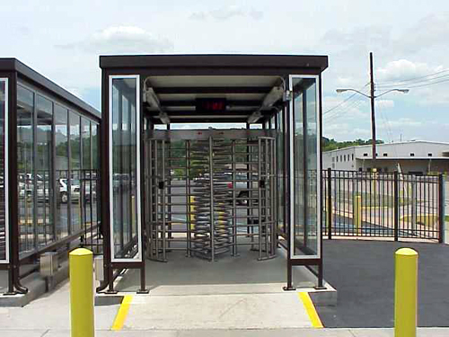 Turnstile Shelters and Barriers