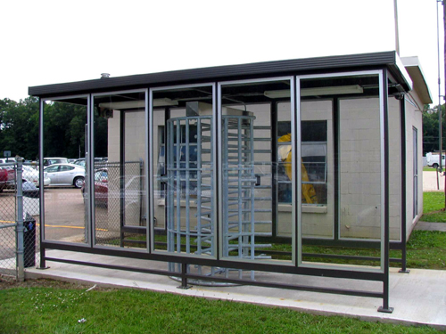 Turnstile Barriers and Shelters
