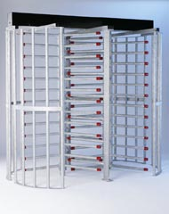 High Security Double Turnstile, EntraPASS Card Access